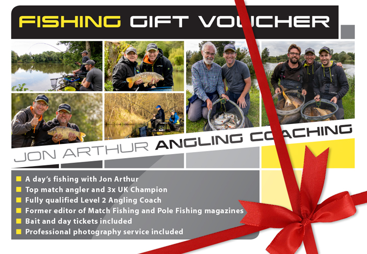 Jon Arthur Angling Gift Voucher
